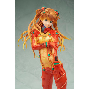 PREORDER ♦ Evangelion 2.0 You Can (Not) Advance PVC Statue 1/4 Asuka Shikinami Langley Test Plugsuit Ver. 39 cm Figur