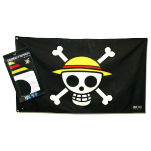 One Piece Piraten Ruffys Strohhutbande 70x120 cm Flagge
