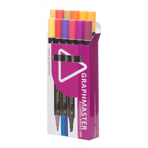 Graphmaster Grafikmarker 12er Set C
