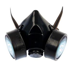 Steampunk Gasmaske mit LED Licht