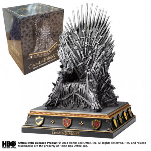Game of Thrones Eiserner Thron 19 cm Buchstütze