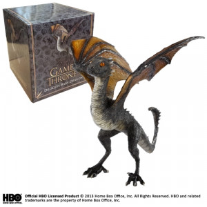 Game of Thrones Drogon Baby Dragon 12 cm Skulptur
