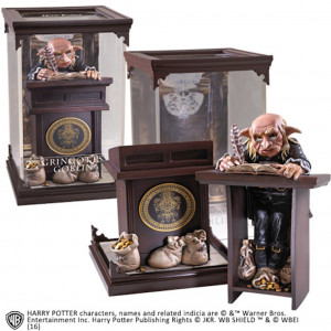 Harry Potter Magical Creatures Gringotts Goblin 19 cm Figur