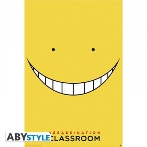 Assassination Classroom Koro-Smile Poster