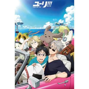 Yuri!!! On Ice Car Poster
