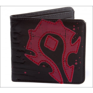 World of Warcraft Horde Crest Leder Portmonee