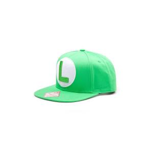 Nintendo Luigi Logo Hip Hop Cap