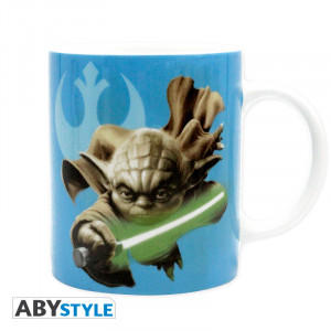 Star Wars Yoda & R2D2 320ml Tasse