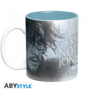 Game Of Thrones You Know Nothing 460ml Tasse