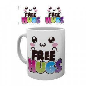 Free Hugs 320ml Tasse