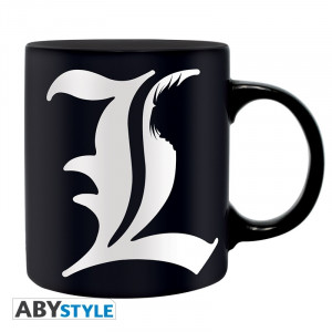 Death Note L & Rules 320ml Tasse