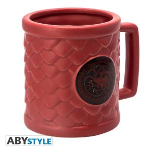 Game of Thrones Targaryen 500ml 3D Tasse
