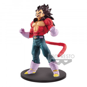 PREORDER ♦ Dragonball GT Blood of Saiyans PVC Statue Super Saiyajin 4 Vegeta Metallic Hair Color 20 cm Figur