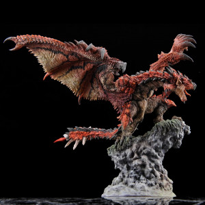 PREORDER ♦ Monster Hunter PVC Statue CFB Rathalos [Resell Ver.] 21 cm Figur