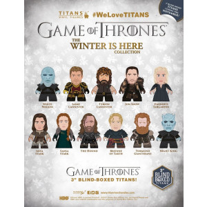 Game of Thrones The Winter is here Collection Titans Sammelfiguren