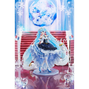PREORDER ♦ Character Vocal Series 01 Statue 1/7 Snow Miku Snow Princess Ver. 23 cm