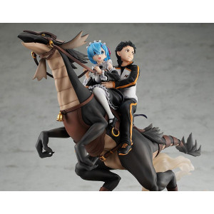 PREORDER ♦ Re:ZERO -Starting Life in Another World- PVC Statue Rem & Subaru: Attack on the White Whale 30 cm Figur