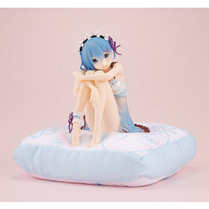 PREORDER ♦ Re:ZERO -Starting Life in Another World- PVC Statue Rem [Birthday Blue Lingerie Ver.] 12 cm Figur