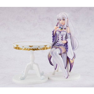 PREORDER ♦ Re:Zero -Starting Life in Another World- PVC Statue 1/7 Emilia [Tea Party Ver.] 20 cm Figur
