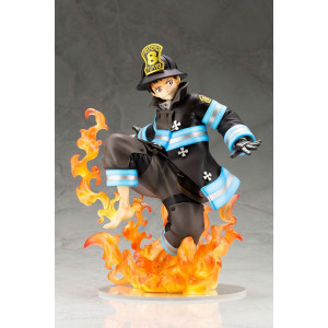 PREORDER ♦ Fire Force ARTFXJ Statue 1/8 Shinra Kusakabe (Glows in the Dark) 21 cm Figur