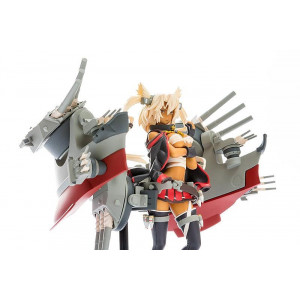 PREORDER ♦ Kantai Collection Plastic Model Kit 1/20 PLAMAX MF-18 Musashi 9 cm Figur