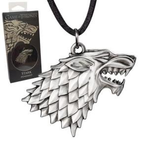 Game of Thrones Stark Sigil Costume Anhänger mit Kette