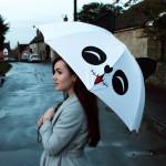 Panda Regenschirm