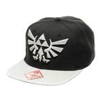 Nintendo Hip Hop Kappe Cap Schwarz Zelda Grey Logo