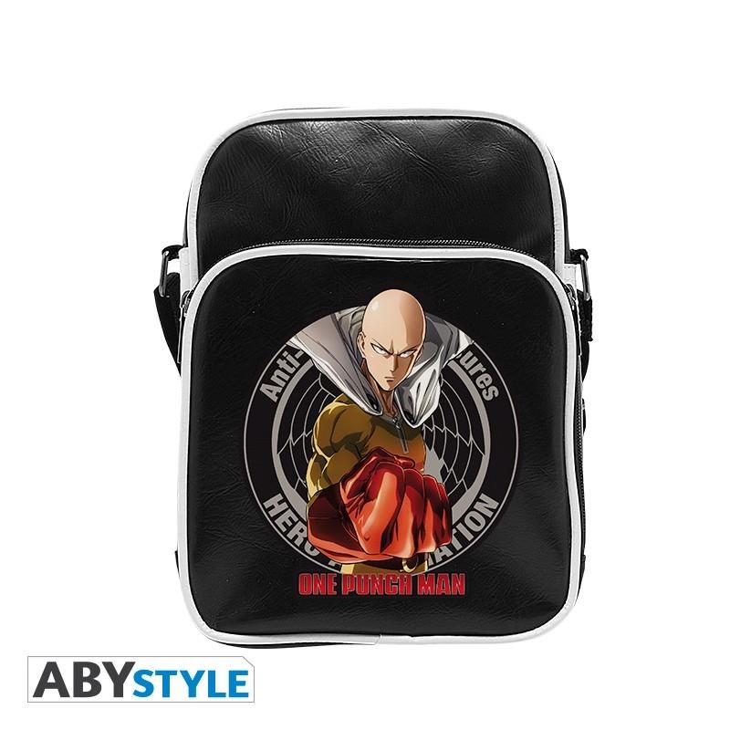 Neu Anime ONE PUNCH MAN Segel canvas Messenger Tasche Bag 33x26x7CM 001